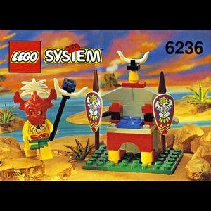 Rare LEGO 6236 King Kahuka - UNOPENED